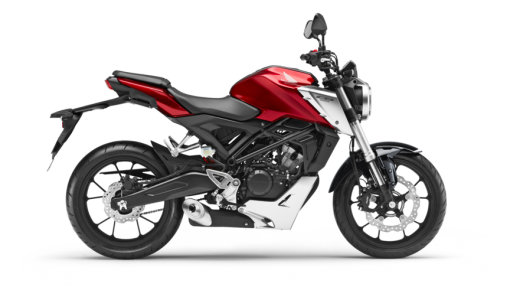 Honda CB125R Road Motorcycle - Candy Chromosphere Red