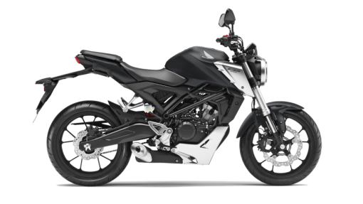 Honda CB125R Road Motorcycle - Matt Axis Grey Metallic