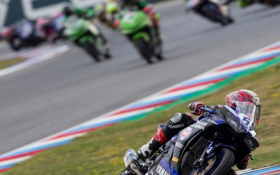 bLU cRU Riders Out for Victory in Misano