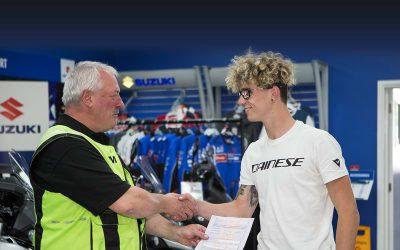 British Superbike star Bradley Ray passes CBT