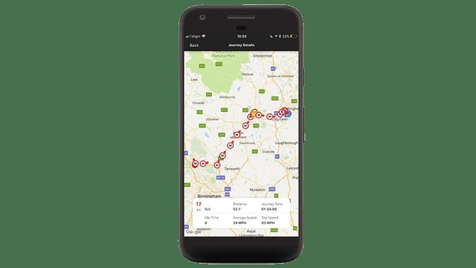 Datatool tracking phone app